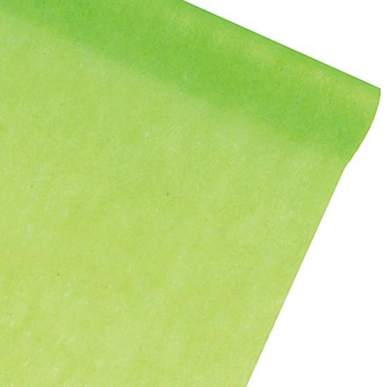 Dekovlies-PARTY: 300mm breit / 25m-Rolle: apfelgrün