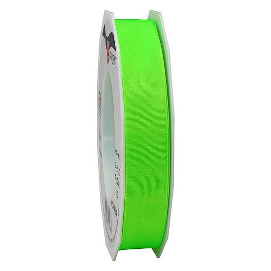 DREAM-Drahtkantenband: 15mm breit / 20m-Rolle, Neon-grün