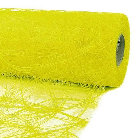 Sizoweb® - Deko-Vlies: 30cm breit / 25m-Rolle, NEON-gelb