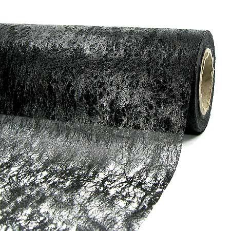 Dekovlies, 230mm breit / 20m-Rolle, schwarz
