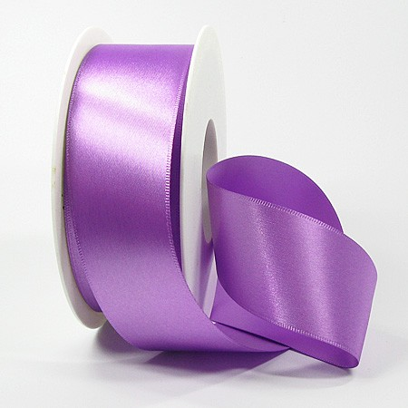 Satinband-SINFINITY, lavendel: 50mm breit / 25m-Rolle, mit feiner Webkante