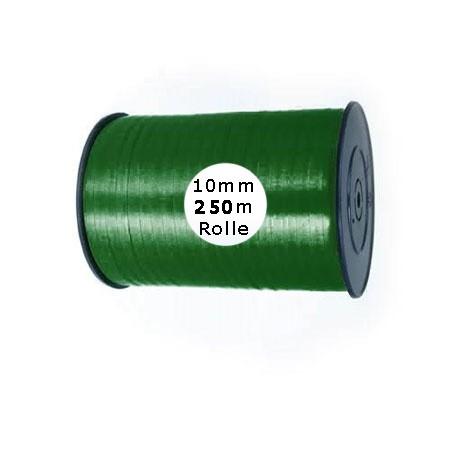 Ringelband: 10mm breit / 250m-Rolle, tannengrün