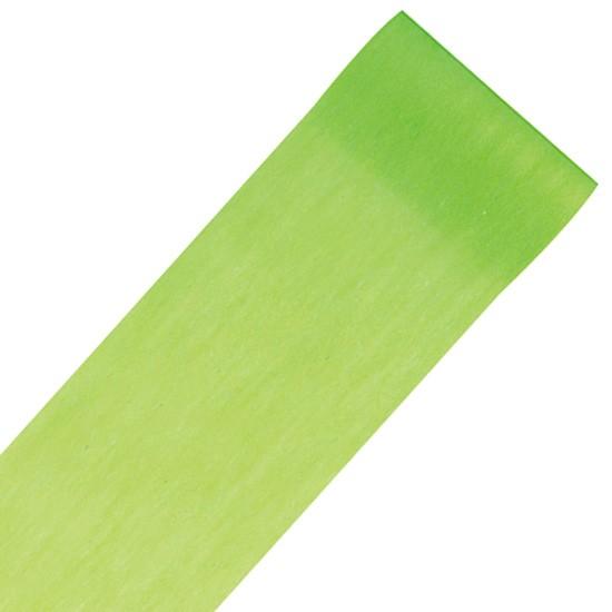 Dekovlies-PARTY: 100mm breit / 10m-Rolle: apfelgrün