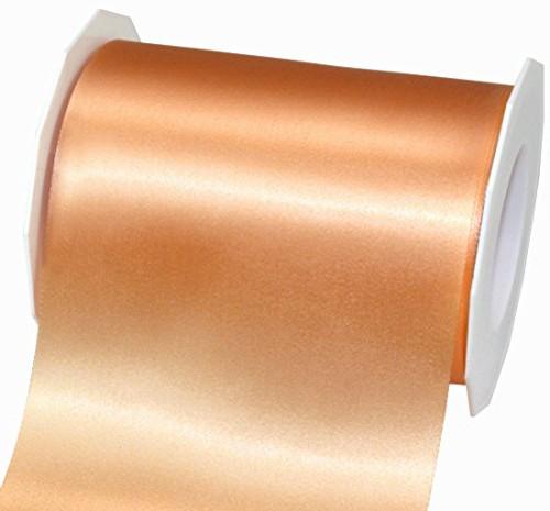 Satinband-ADRIA, Tischband: 112 mm breit / 25-Meter-Rolle, apricot