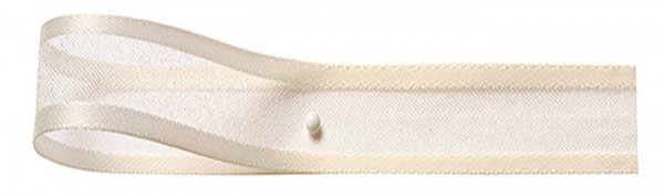 Florband: 25mm breit / 25m-Rolle, creme