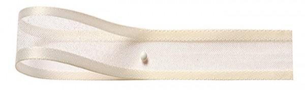 Florband: 25mm breit / 25m-Rolle, creme