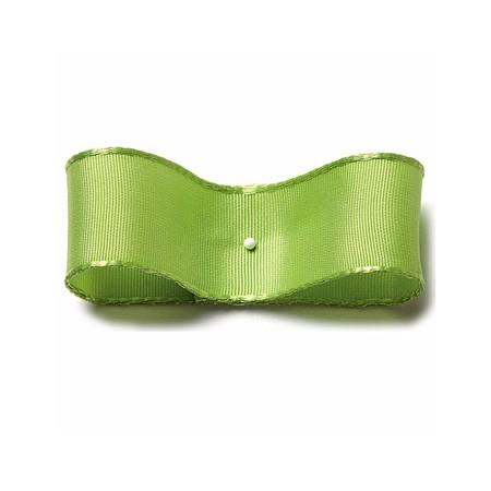 Drahtkantenband: 25mm breit / 25m-Rolle, lindgrün