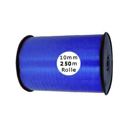 Ringelband: 10mm breit / 250m-Rolle, royalblau