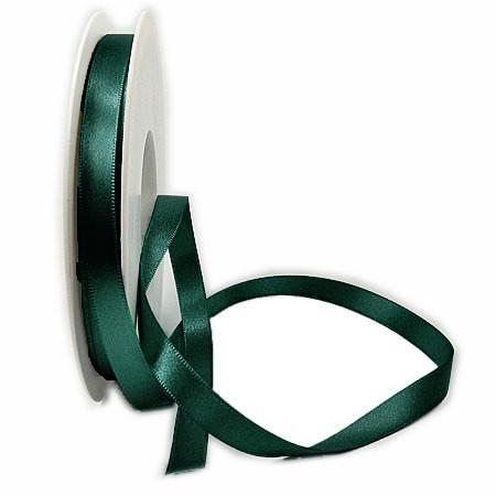 Satinband, opalgrün: 15mm breit / 25m-Rolle