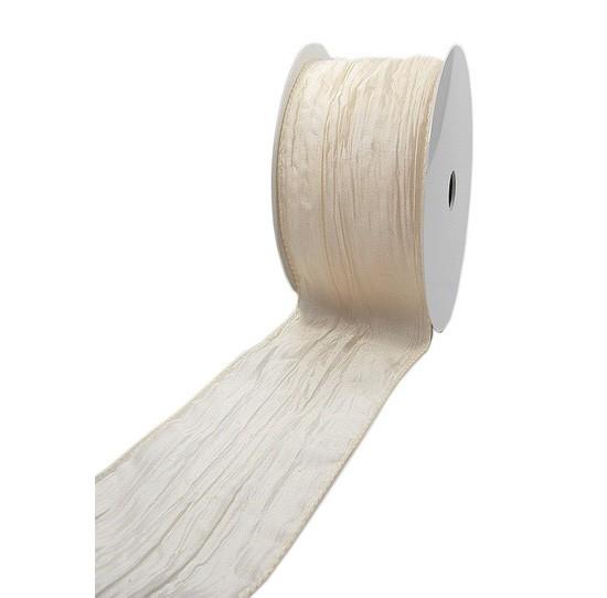 Crashband: 50mm breit / 10m-Rolle, mit Drahtkante