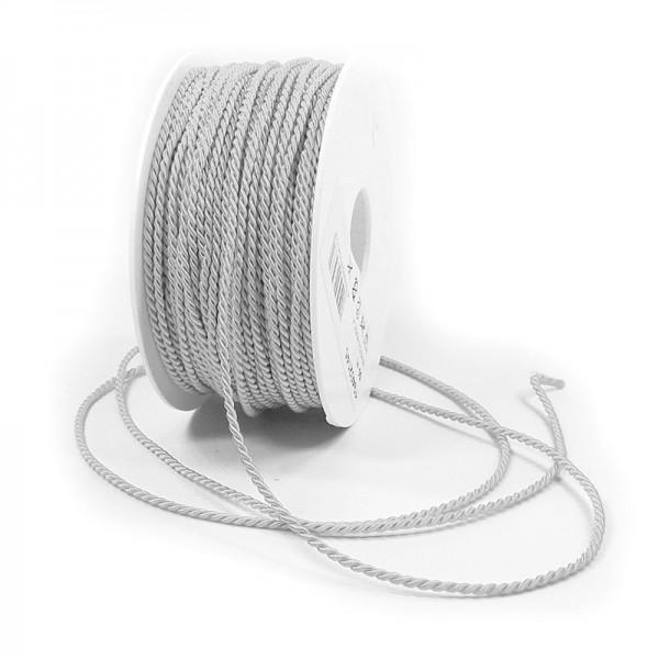 Kordel, einfarbig gedreht: 2mm breit Ø / 50m-Rolle