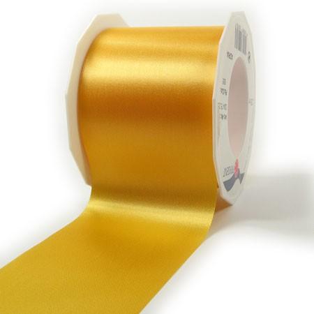 Satinband-ADRIA, Tischband: 72 mm breit / 25-Meter-Rolle, gelb