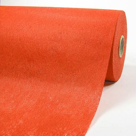 Fleece-Dekovlies: 250mm breit / 50m-Rolle, orange