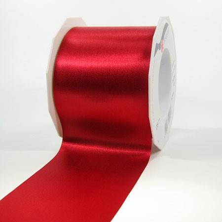 Satinband-ADRIA, Tischband: 72 mm breit / 25-Meter-Rolle, rot