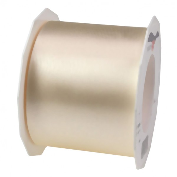 Satinband-ADRIA, Tischband: 72 mm breit / 25-Meter-Rolle, creme