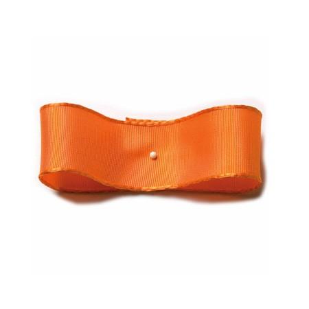 Drahtkantenband: 25mm breit / 25m-Rolle, orange