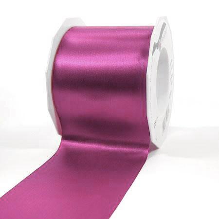 Satinband-ADRIA, Tischband: 72 mm breit / 25-Meter-Rolle, pink