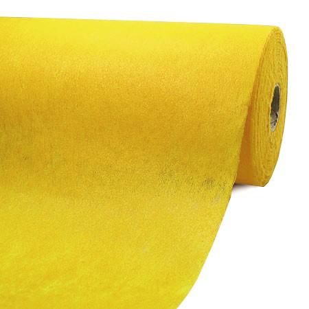 Fleece-Dekovlies: 250mm breit / 50m-Rolle, zitronengelb