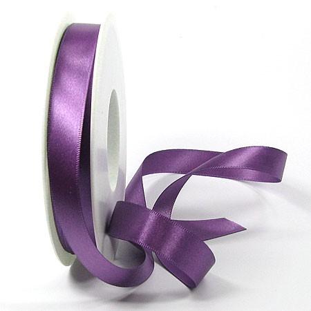 Satinband-SINFINITY, lila: 15mm breit / 25m-Rolle, mit feiner Webkante