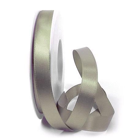 Satinband-SINFINITY, schilfgrün: 15mm breit / 25m-Rolle