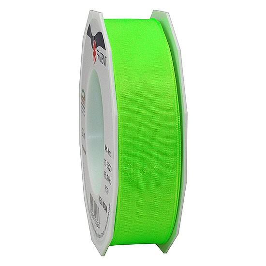DREAM-Drahtkantenband: 25mm breit / 20m-Rolle, Neon-grün