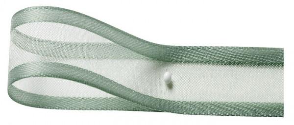 Florband: 25mm breit / 25m-Rolle, mintgrün