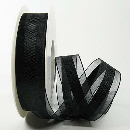 Emotion schwarz, 25mm breit / 25mn-Rolle
