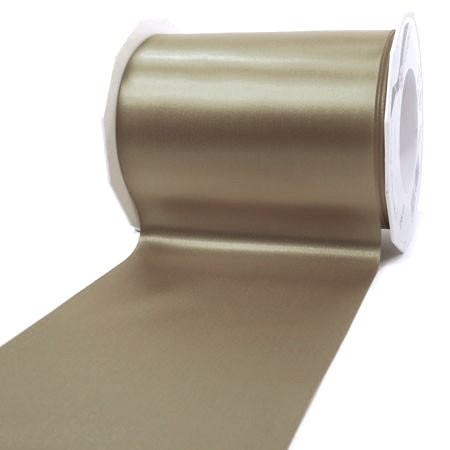 Satinband-ADRIA, Tischband: 112 mm breit / 25-Meter-Rolle, taupe