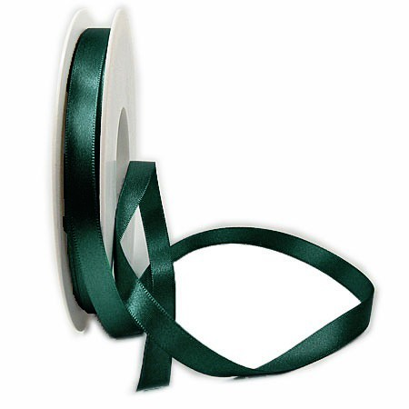 Satinband SINFINITY, opalgrün: 10mm breit / 25m-Rolle, mit feiner Webkante.