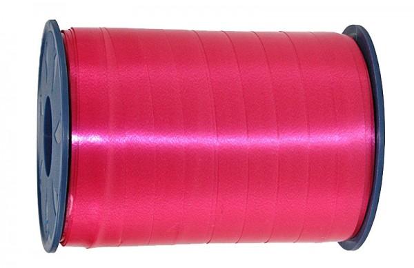 Ringelband: 10mm breit / 250m-Rolle, magenta