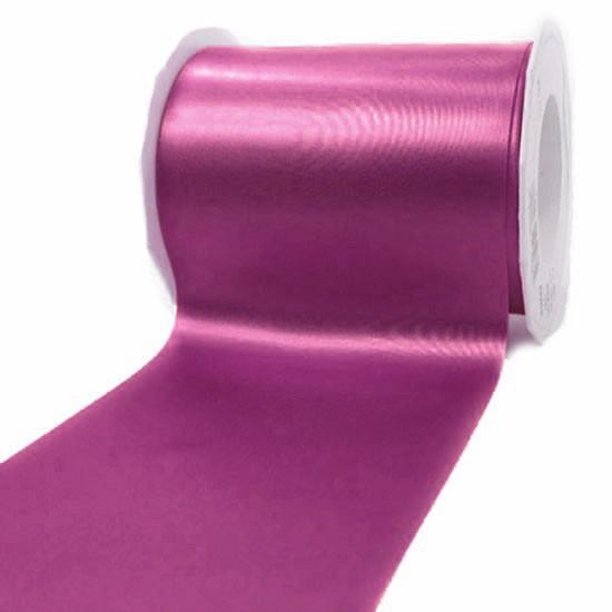 Satinband-ADRIA, pink: 112 mm breit / 25 m - Tischband