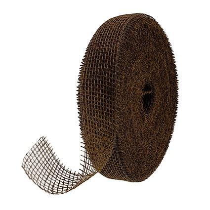 Juteband-Rupfenband: 40mm breit / 25m-Rollen