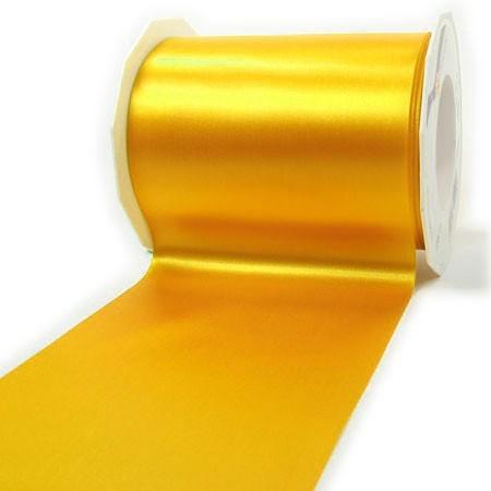 Satinband-ADRIA, Tischband: 112 mm breit / 25-Meter-Rolle, gelb