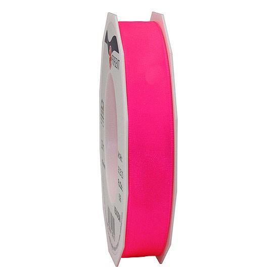 DREAM-Drahtkantenband: 15mm breit / 20m-Rolle, Neon-pink