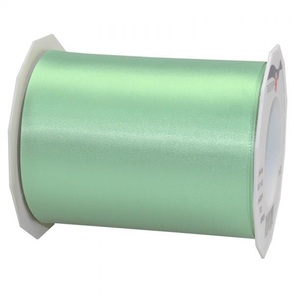 Satinband-Adria, Tischband: 112mm breit / 25m-Rolle, mintgrün.