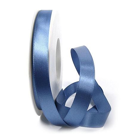Satinband-SINFINITY, aquablau: 15mm breit / 25m-Rolle, mit feiner Webkante