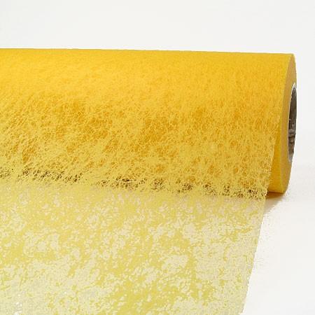 Deko-Vlies: 700mm breit / 25m-Rolle, gelb