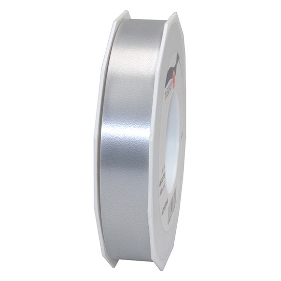Polyband-AMERICA: 25mm breit / 91m-Rolle, silber.