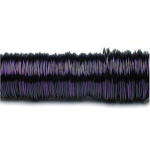 Decolackdraht, violett: 0,5mm Ø - 50m-SNAP-Spule = 100 gramm