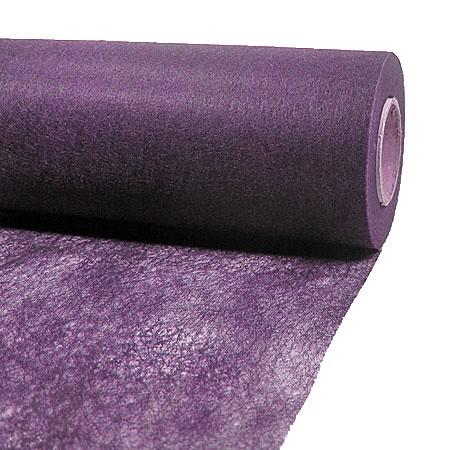 Dekovlies: 200mm breit / 25m-Rolle, aubergine