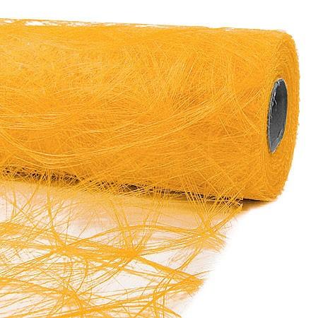 Sizoweb: 60cm breit / 25m-Rolle, sonnengelb