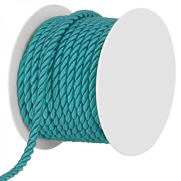 Kordel, einfarbig gedreht: 6mm breit Ø / 25m-Rolle.
