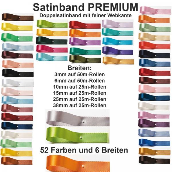 Satinband Breiten- und Farbauswahl-SINFINITY