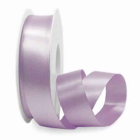 Satinband, flieder: 25mm breit / 25m-Rolle.