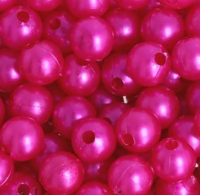Dekoperlen, pink