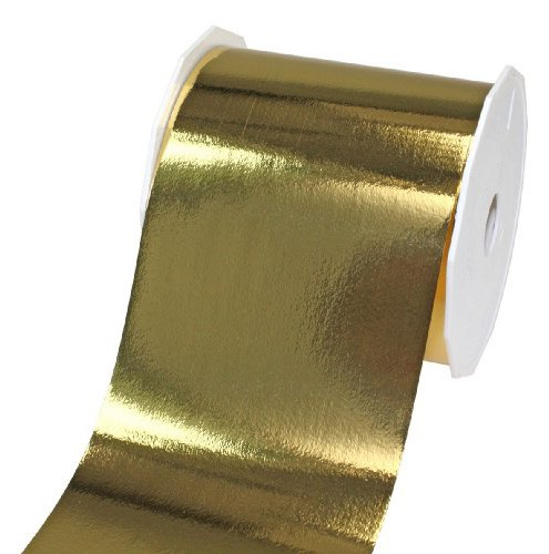 POLYBAND-Mexico: 90mm breit / 25m-Rolle, gold-metallic