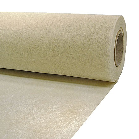 Dekovlies: 200mm breit / 25m-Rolle, creme