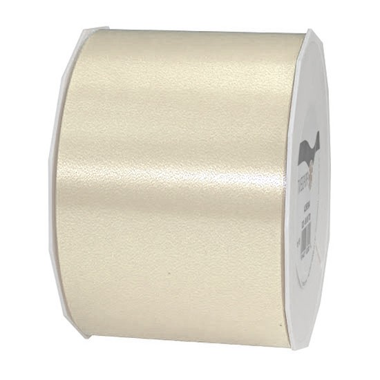 Polyband-AMERICA, creme: 90mm breit / 91m-Rolle
