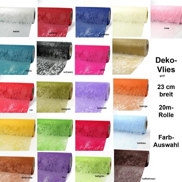 Deko-Vlies, 23cm breit - Farbauswahl