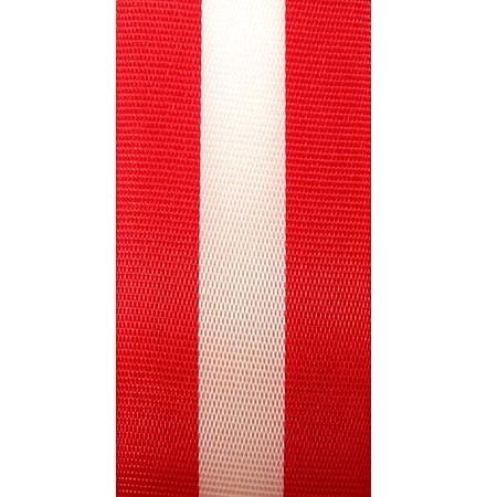 Nationalband ÖSTERREICH, rot-weiss-rot: 15mm breit / 25m-Rolle
